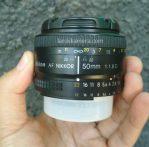 Jual Lensa Fix Nikon 50mm AF-D Second