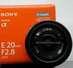 Jual Lensa Mirrorless Sony 20mm f2.8 ( E Mount ) Bekas