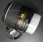 Jual lensa Kit Nikon 18-55mm Second