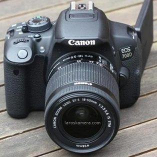 Jual Kamera DSLR Canon 700D Lensa 18-55 IS 2 Bekas