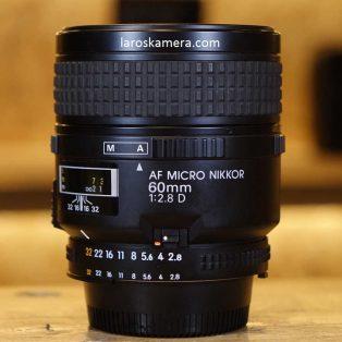 Jual Lensa Nikon 60mm F2.8 AF-D Second
