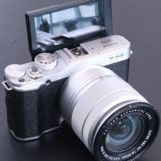 Kendala LCD tidak tampil / Putih polos pada kamera Fujifilm X-A2