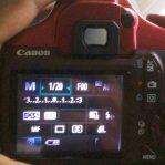 LCD Vignet Pada Kamera Canon EOS 1100D Lebih Baik Ganti LCD