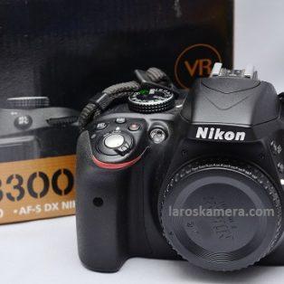 Jual Kamera DSLR Nikon D3300 ( Body Only ) Bekas Fullset