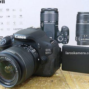 Jual Kamera DSLR Canon EOS 600D Bekas