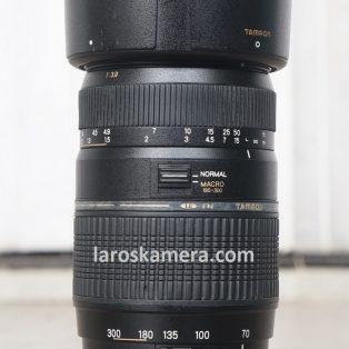 Jual Lensa Tamron 70-300mm For Canon Bekas