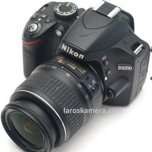 Jual Kamera DSLR Nikon D3200 Lensa Kit Bekas